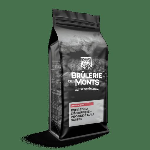 Espresso décafeiné - Procédé Eau Suisse